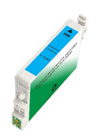 Remanufactured Epson T048220 (T0482) Cyan Ink Cartridge