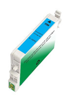 Remanufactured Epson T059220 (T0592) Cyan Ink Cartridge