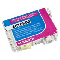 Remanufactured Epson T068320 (T0683) High Yield Magenta Ink Cartridge - Replacement Ink for Epson Stylus - C120, CX5000, NX510; WorkForce - 30, 610