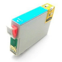 Remanufactured Epson T087220 (T0872) Cyan Ink Cartridge - Replacement Ink for Epson Stylus Photo R1900