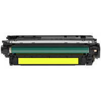 Compatible HP CF032A (646A) Yellow Laser Toner Cartridge - Replacement Toner for HP Color LaserJet CM4540 Series