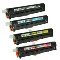 HP 131A Toner Cartridges 4Pack (CF210A, CF211A, CF212A, CF213A) for HP LaserJet Pro 200 M251nw, M276nw