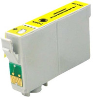 Remanufactured Epson T068420 (T0684) High Yield Yellow Ink Cartridge - Replacement Ink for Epson Stylus - C120, CX5000, NX510; WorkForce - 30, 610