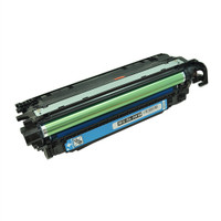 Remanufactured HP CE251A (504A) Cyan Laser Toner Cartridge - Replacement Toner for HP Color LaserJet CM3530, CP3525