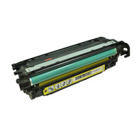 Remanufactured HP CE252A (504A) Yellow Laser Toner Cartridge - Replacement Toner for HP Color LaserJet CM3530, CP3525