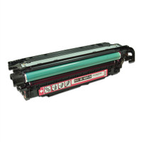 Remanufactured HP CE253A (504A) Magenta Laser Toner Cartridge - Replacement Toner for HP Color LaserJet CM3530, CP3525