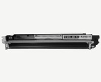 Remanufactured HP CE310A (HP 126A) Black Laser Toner Cartridge - Replacement Toner for Color LaserJet CP1025nw, M175nw