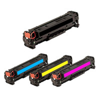 HP 312A Toner Cartridges 4Pack (CF380A,CF381A,CF382A,CF383A) For Color LaserJet Pro M476dn,M476dw,M476nw