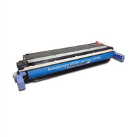 Remanufactured HP C9731A (645A) Cyan Laser Toner Cartridge - Replacement Toner for HP Color LaserJet 5500 & 5550