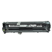 Remanufactured HP CE320A (HP 128A) Black Laser Toner Cartridge - Replacement Toner for HP Color LaserJet CM1415, CP1525