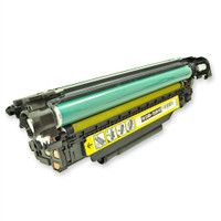 Remanufactured HP CE402A (507A) Yellow Laser Toner Cartridge - Replacement Toner for HP Color LaserJet 500, M551