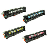 HP 304A Toner Cartridges 4Pack (CC530A, CC531A, CC532A, CC533A) for HP Color Laserjet CP2025, CM2320