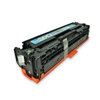 Remanufactured HP CB541A (HP 125A) Cyan Laser Toner Cartridge - Replacement Toner for HP Color LaserJet CP1215, CP1515, CM1312