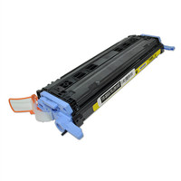 Remanufactured HP Q6002A Yellow Laser Toner Cartridge - Replacement Toner for HP Color LaserJet 1600, 2600, CM1015, CM1017