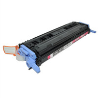 Remanufactured HP Q6003A Magenta Laser Toner Cartridge - Replacement Toner for HP Color LaserJet 1600, 2600, CM1015, CM1017