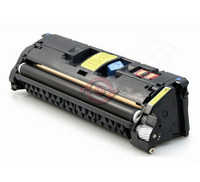 Remanufactured HP (122A) Q3962A Yellow Laser Toner Cartridge - Replacement Toner for HP Color LaserJet 2550, 2820, 2840