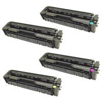 HP 201A Toner Cartridges Pack (CF400A, CF401A, CF402A, CF403A) for HP Color LaserJet Pro M252dw, M252n