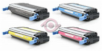 HP 643A Toner Cartridges 4Pack (Q5950A, Q5951A, Q5952A, Q5953A) For HP Color LaserJet 4700