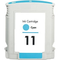 Compatible HP C4836AN (HP 11 Cyan) Cyan Ink Cartridge