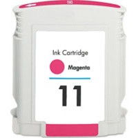 Compatible HP C4837AN (HP 11 Magenta) Magenta Ink Cartridge