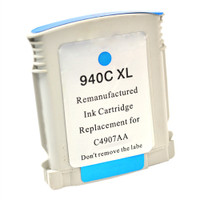Compatible HP C4907AN (HP 940XL Cyan) Cyan Ink Cartridge