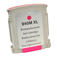 Compatible HP C4908AN (HP 940XL Magenta) Magenta Ink Cartridge