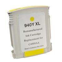 Compatible HP C4909AN (HP 940XL Yellow) Yellow Ink Cartridge