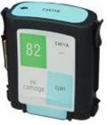 Compatible HP C4911A (HP 82 Cyan) Cyan Ink Cartridge