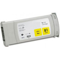 Compatible HP C4933A (HP 81 Yellow) Yellow Dye Ink Ink Cartridge