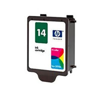 Compatible HP C5010DN (HP 14 Color) Tri-Color Ink Cartridge