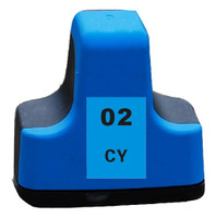 Compatible HP C8771WN (HP 02 Cyan) Cyan Ink Cartridge