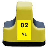 Compatible HP C8773WN (HP 02 Yellow) Yellow Ink Cartridge