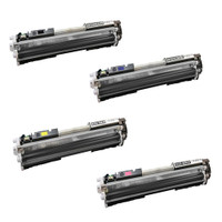 HP 126A Toner Cartridges 4Pack (CE310A, CE311A, CE312A, CE313A) for HP CP1025