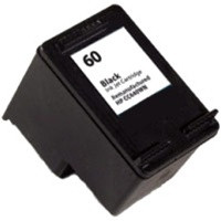 Compatible HP CC640WN (HP 60 Black) Black Ink Cartridge
