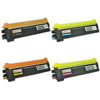 Brother TN210 Toner Cartridges 4Pack (TN210BK TN210C TN210Y TN210M)