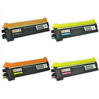 Brother TN210 Toner Cartridges 4Pack (TN210BK TN210C TN210Y TN210M)