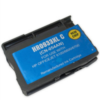 Remanufactured HP 933XL C CN054AN High Capacity Cyan Ink Cartridge