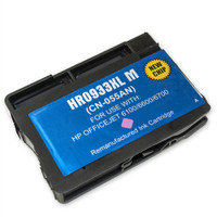 Remanufactured HP 933XL M CN055AN High Capacity Magenta Ink Cartridge
