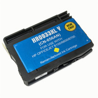 Remanufactured HP 933XL Y CN056AN High Capacity Yellow Ink Cartridge