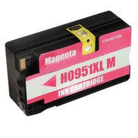 Remanufactured HP 951XL M CN047AN High Capacity Magenta Ink Cartridge