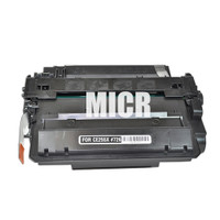 Remanufactured HP CE255X (HP 55X) High Yield Black Laser Toner Cartridge with MICR - Replacement Toner for HP LaserJet P3015