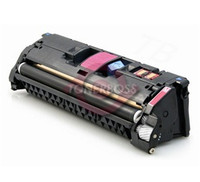 Replaces HP Q3973A (123A) Remanufactured Magenta Laser Toner Cartridge