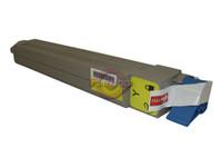 Compatible Okidata 42918901 Yellow Laser Toner Cartridge for the C9600, C9800 Series