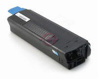 Compatible Okidata 43324403 High Yield Cyan Laser Toner Cartridge for the C5500, C5650, C5800 Series
