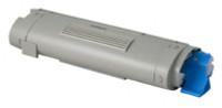 Compatible Okidata 43324419 Cyan Laser Toner Cartridge for the C5550, C6100 Series