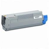 Compatible Okidata 43324468 Cyan Laser Toner Cartridge for the C6000, C6050 Series