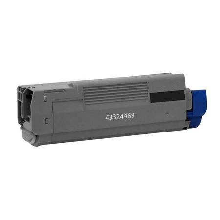 Okidata 43324469 Black Laser Toner Cartridge
