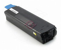 Compatible Okidata 42127401 High Yield Yellow Laser Toner Cartridge for the C5150, C5200, C5400, C5100 Series