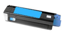 Compatible Okidata 43034803 Cyan Laser Toner Cartridge for the C3100, C3200 Series