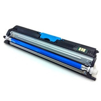 Remanufactured Okidata 44250715 High Yield Cyan Laser Toner Cartridge for the C110, C130, MC160 MFP